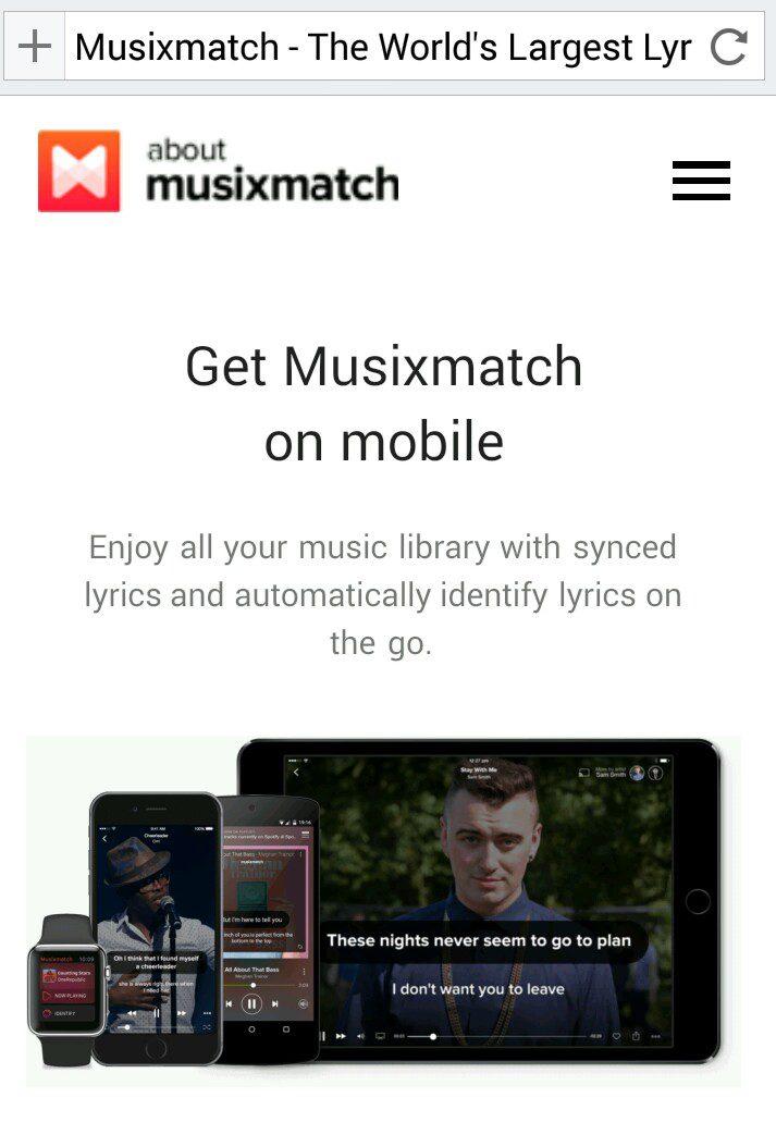 Cara Menggunakan Aplikasi Musixmatch