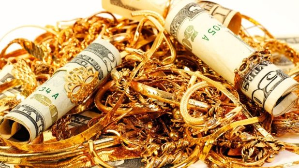 Clear Tips Gold Money