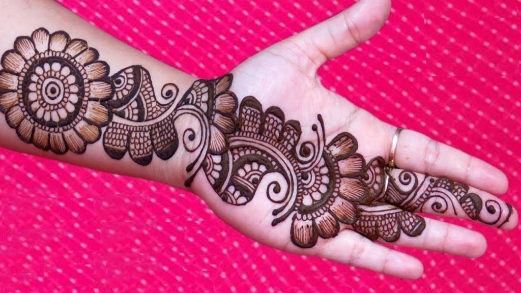 New Mehandi Designs 2018 Simple