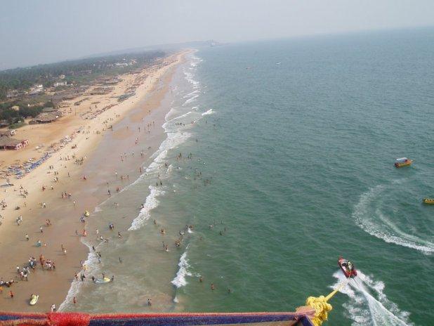 Calangute and Baga: Land of Golden sand Goa