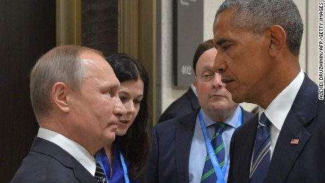 Russia and the United States move from the Cold War to an unpredictable conflict