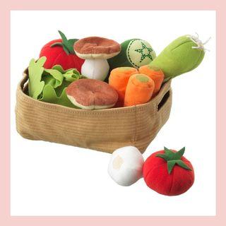 DUKTIG 14-piece vegetable set