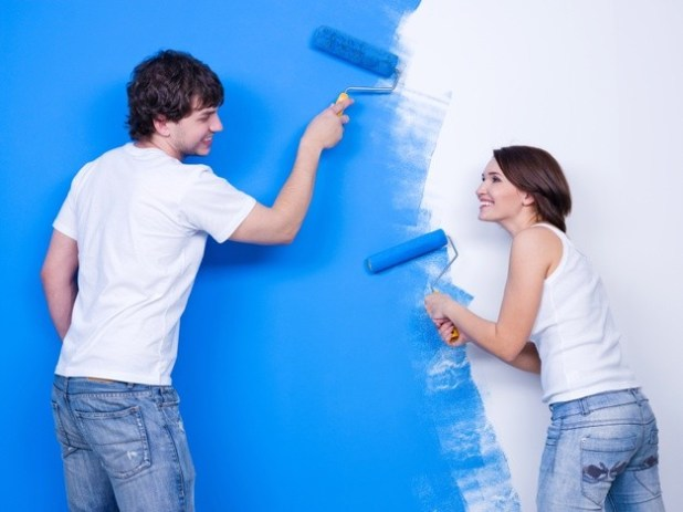 Way to Paint Having a Roller