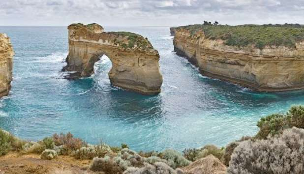 Most of the scenic areas of Australia