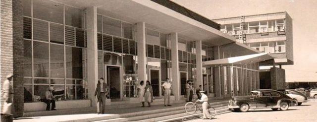 antigua estacion del ferrocarril, lugar turistico de tamaulipas, mexico