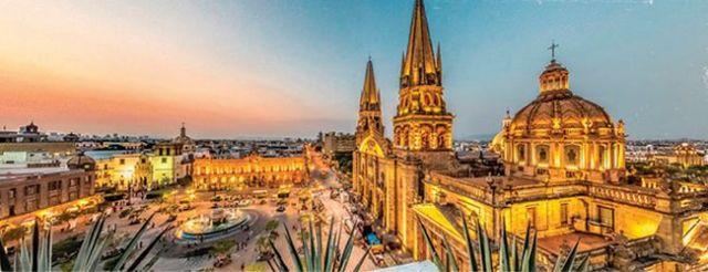 catedral de guadalajara, mexico, lugar turistico