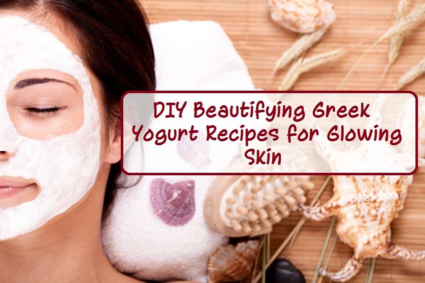 Greek yogurt face mask recipes