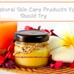 5 Natural Skin Care Products You Should Try