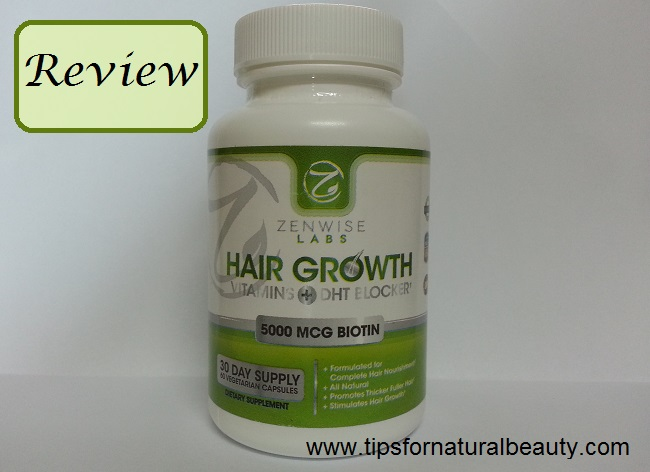 ZenWise Labs Hair Growth Vitamins+ DHT Blocker