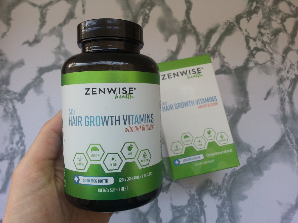 Zenwise Health's Hair Growth Vitamins supplements