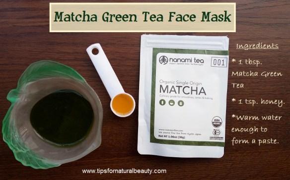 Matcha Green Tea Facemask