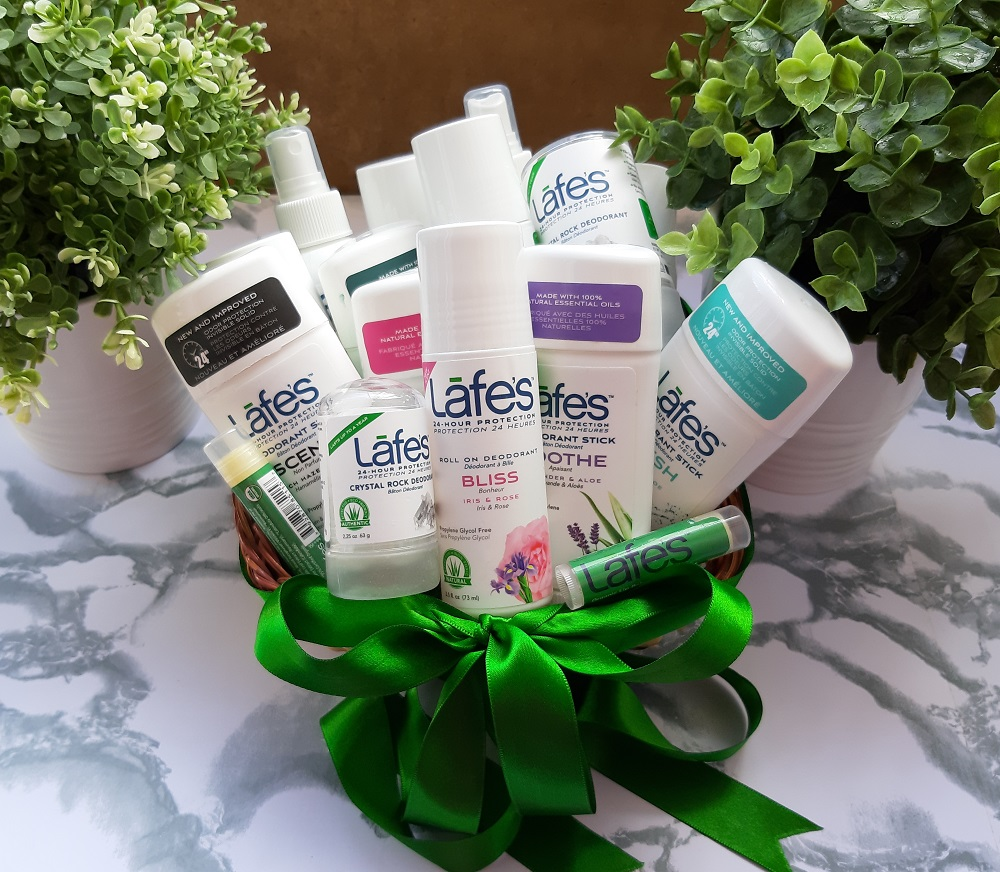 Lafe's natural body care giveaway