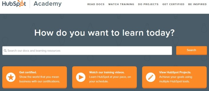 Free Online Learning Sites - HubSpot