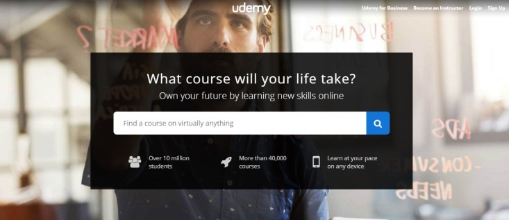 Free Online Learning Sites - Udemy