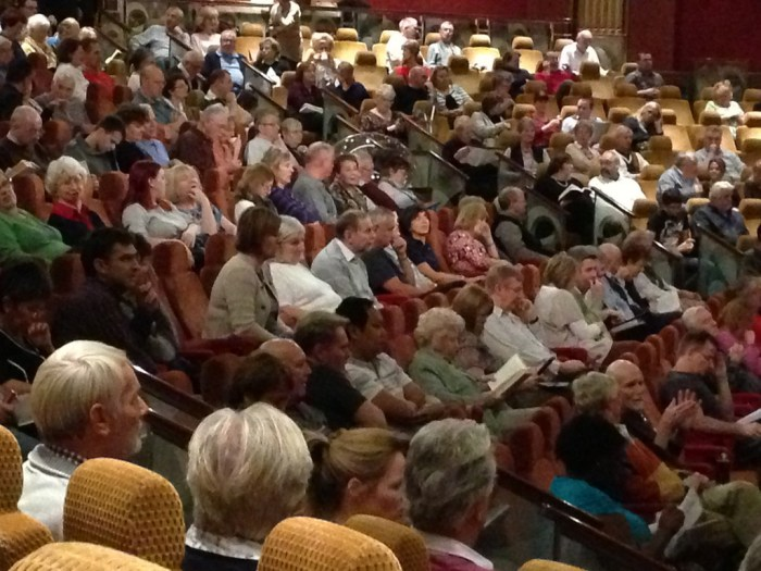 Cunard Queen Mary 2 Passengers in Insights Lecture