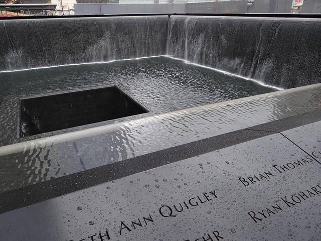 September 11 Memorial Fountains, Ground Zero, New York