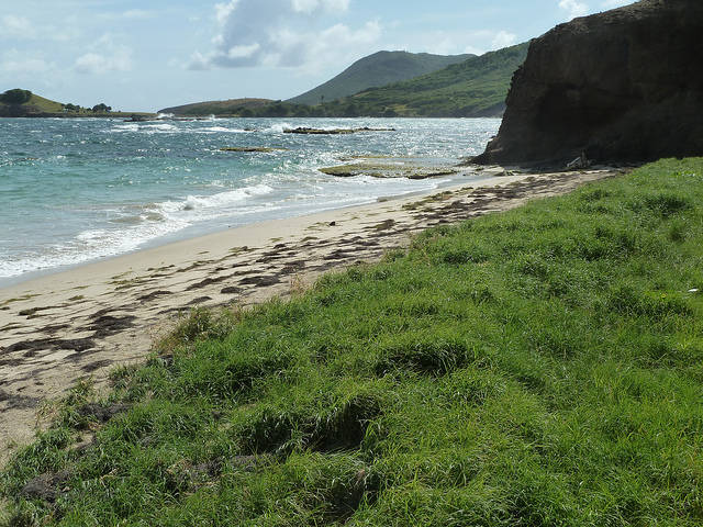 St Kitts Atlantic Ocean Beach