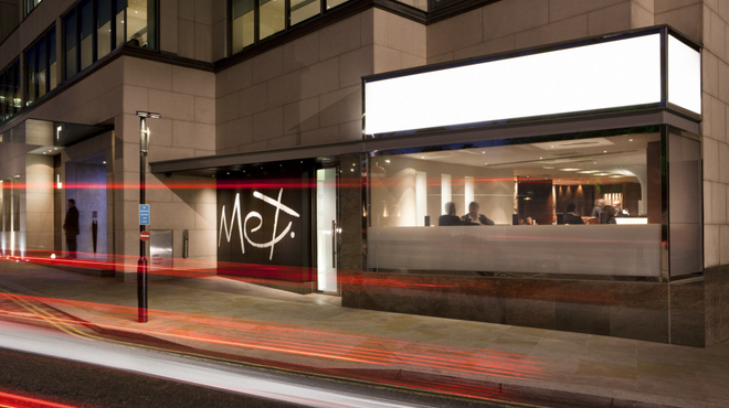 Met Bar Cosmopolitan Hotel London