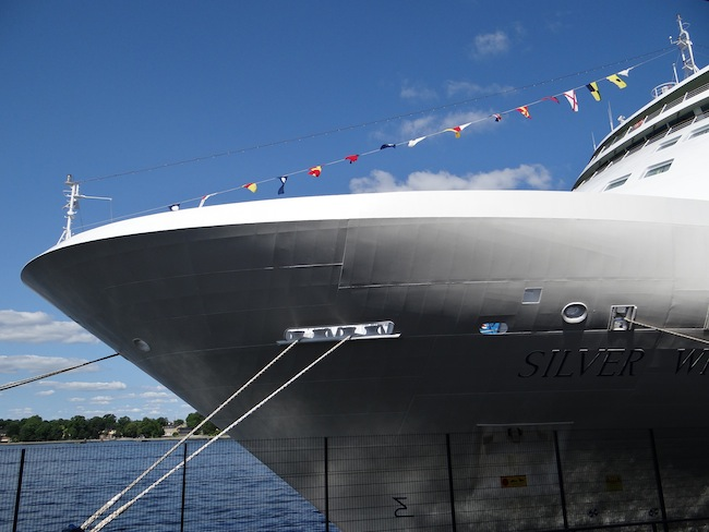 Silversea Silver Whisper in Stockholm