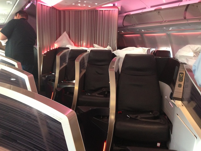Virgin Atlantic New Upper Class Cabin