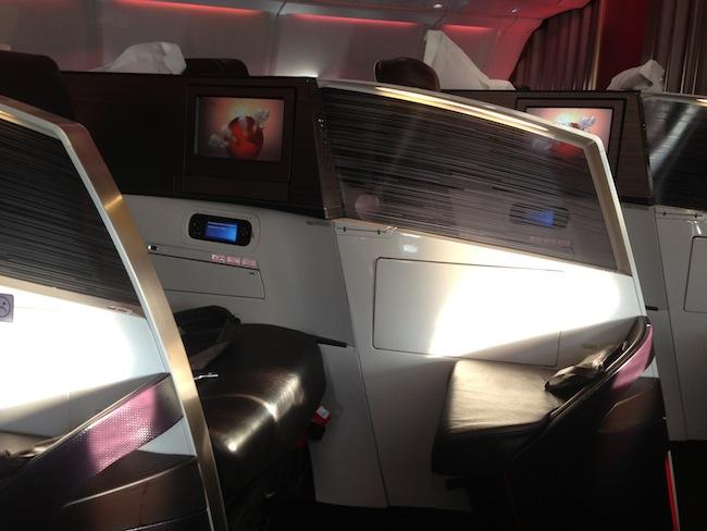 Virgin Upper Class New Seats Sde View