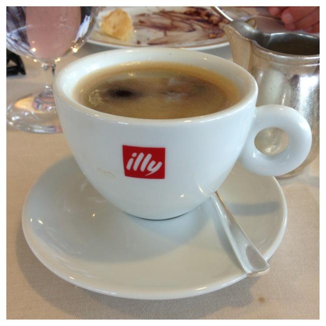 Illy Coffee on-board Silversea Silver Whisper