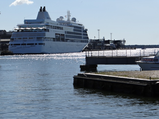 Silversea Cruises Silver Whisper in Helsinki