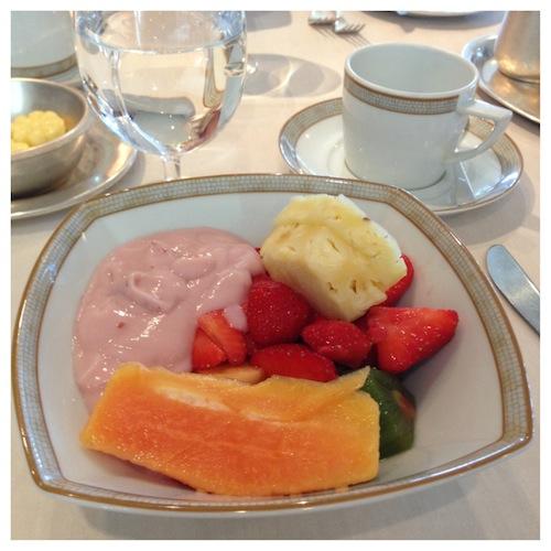 Silversea Silver Whisper La Terrazza Breakfast Day 2