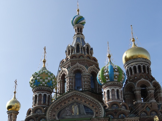 Church of the Spilt Blood St Petersburg Russia