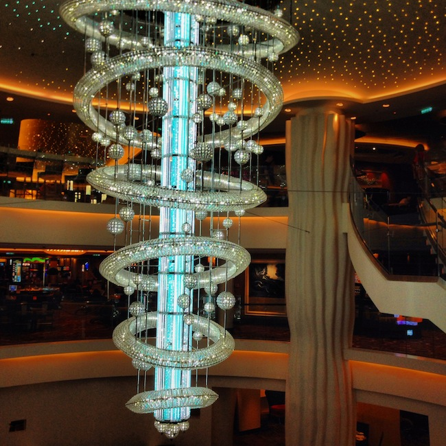 Norwegian Epic - much more grand than I had expected