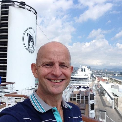 Gary Bembridge on Nieuw Amsterdam Holland America