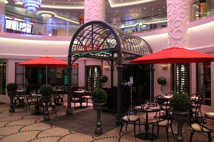 Norwegian Getaway Cruise Ship's Le Bistro French Restaurant