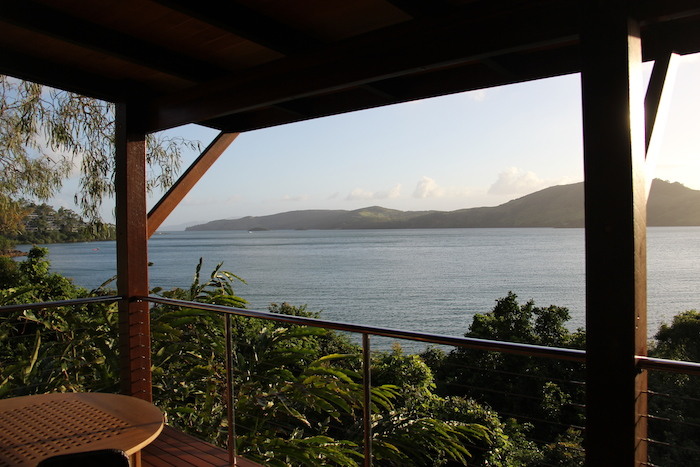 Qualia Resort Hamilton Island View from Pavillion 54