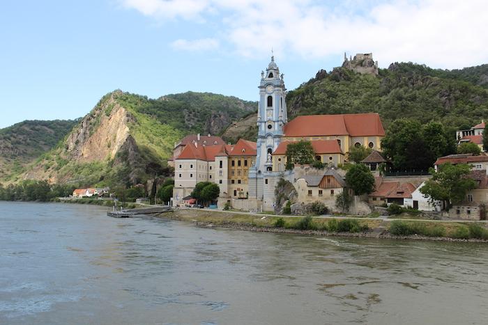 Durnstein on the Danube River Austria