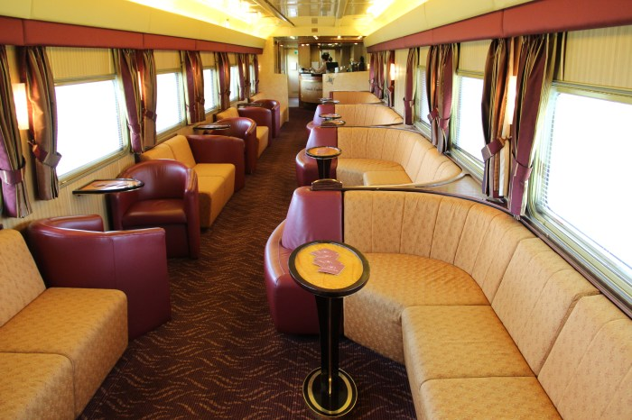 The Ghan Outback Explorers Lounge