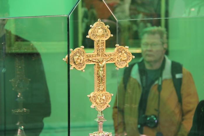 Religious relics in Melk Monastery Museum