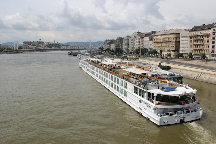 Uniworld River Beatrice River Cruise in Budapest
