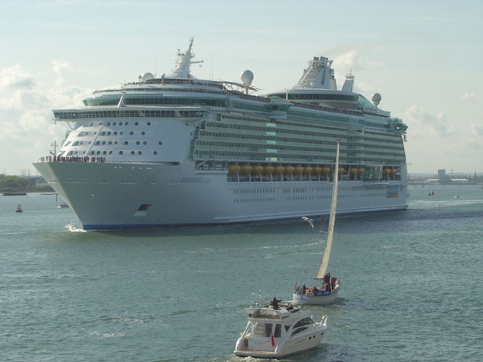 Royal Caribbean Independence of the Seas in Southampton UK