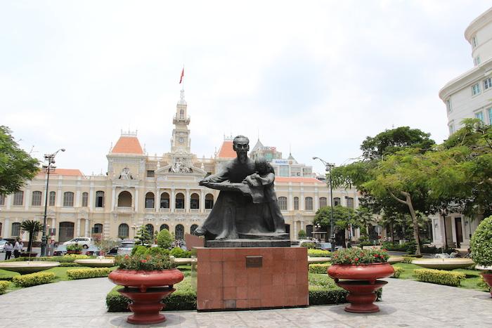 City Hall Ho Chi Minh City Vietnam