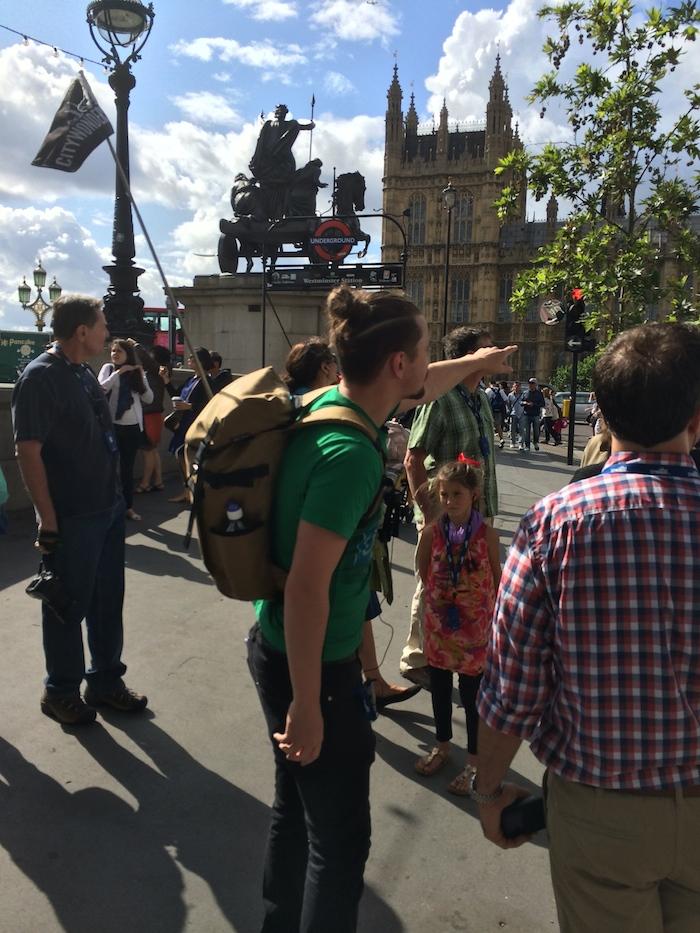 Kieran : City Wonders Tour Guide London