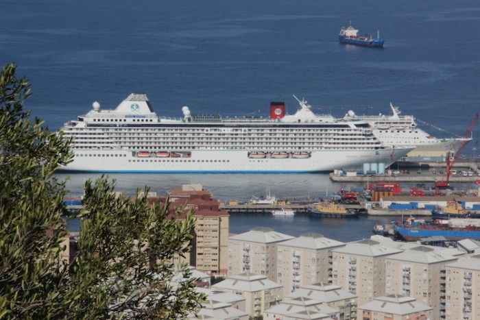 Cruise ships Gibraltar