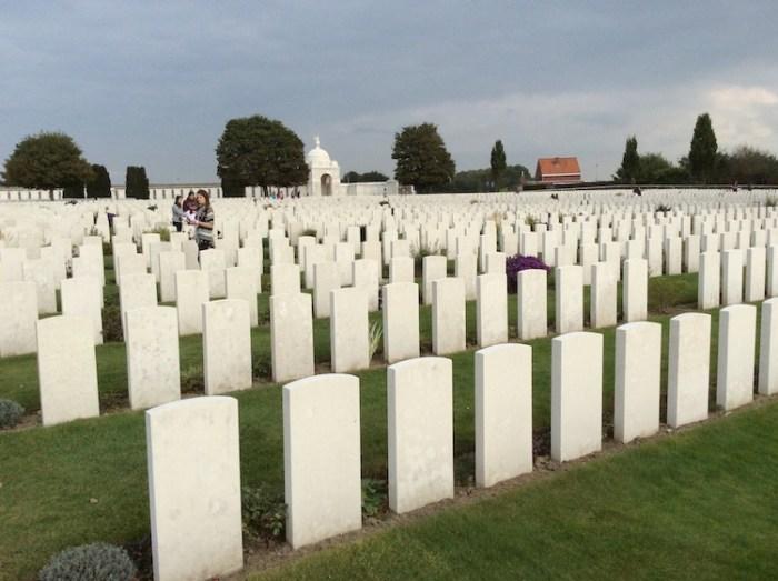 Tyne Cot Commonwealth Cemetery Flanders Belgium