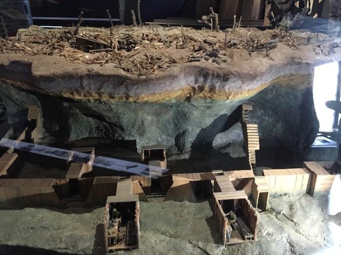 In Flanders Field Museum Model of Tunnels Ieper