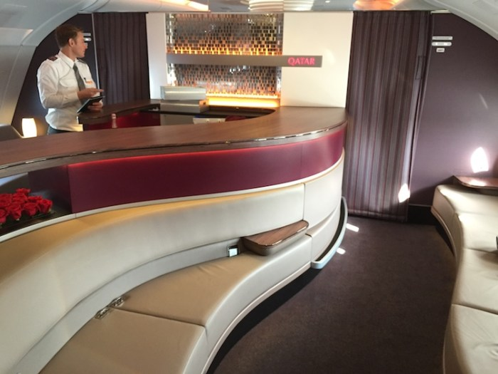 Qatar Airways A380 Business and First Class Lounge