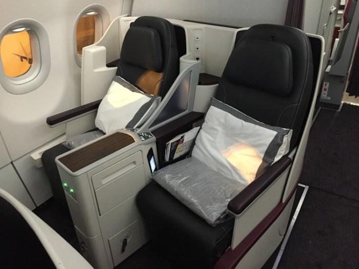 Qatar Airways Business One Airbus Seats