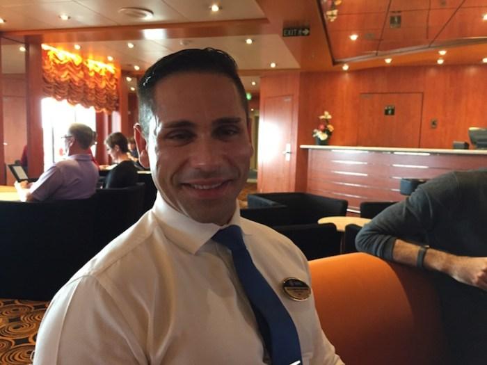 Alessandro Molinari - MSC Armonia Cruise Director