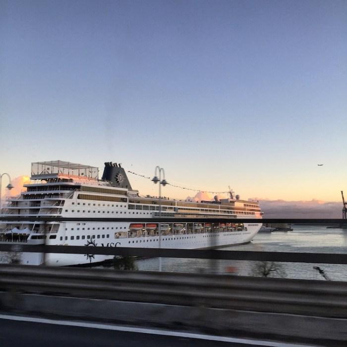 MSC Armonia Genoa Port