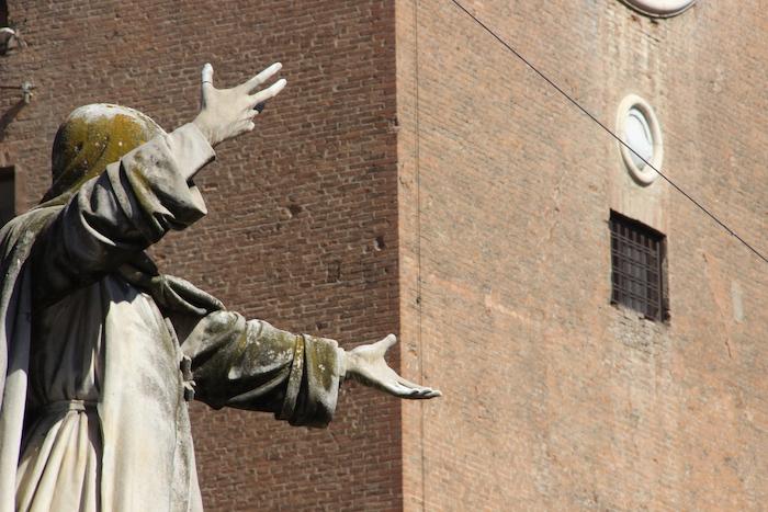 Girolamo Savonarola Statue, Ferrara, Italy