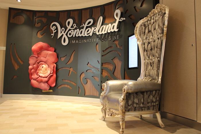Anthem of the Seas Wonderland Restaurant