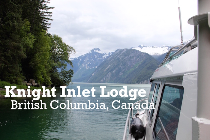 Knight Inlet Banner